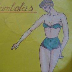 Colecionismo Recortáveis: BAMBOLAS EF CUADERNO MUÑECA CHICA PIN UP TROQUELADA PARA VESTIR 10 VESTIDOS . RECORTABLE. Lote 238691535