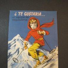 Coleccionismo Recortables: MUÑECA-TE GUSTARIA ... ESQUIADORA, ROMERIA-EDICIONES BETIS-VER FOTOS-(K-1828). Lote 240504265