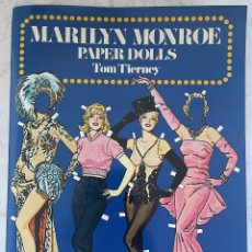 Coleccionismo Recortables: MARILYN MONROE. PAPER DOLLS. TOM TIERNEY. 1ST EDICION 1979. Lote 249292475