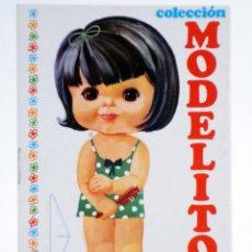 Coleccionismo Recortables: COLECCIÓN MODELITO 13 Y 14 (J.M. ARNALOT) ARNALOT, 1974. Lote 253607950