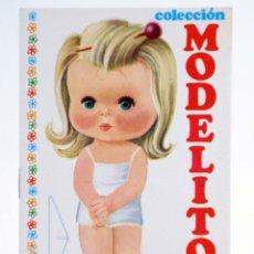 Coleccionismo Recortables: COLECCIÓN MODELITO 11 Y 12 (J.M. ARNALOT) ARNALOT, 1974. Lote 253607965