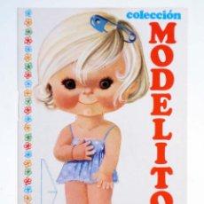 Coleccionismo Recortables: COLECCIÓN MODELITO 1 Y 2 (J.M. ARNALOT) ARNALOT, 1974. Lote 253607985