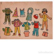 Coleccionismo Recortables: MUÑECA RECORTABLE MAIBEL. 7X9,5 CM.. Lote 254418940