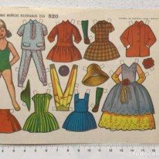 Coleccionismo Recortables: ST R 64 LAMINA RECORTABLE MUÑECA MARISA Nº 820 ED. EVA. Lote 254797810