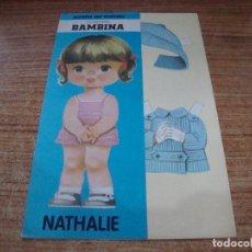 Coleccionismo Recortables: RECORTABLE COLECCION BAMBINA NATHALIE. Lote 293989948