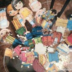Coleccionismo Recortables: LOTE RECORTABLES MUÑECAS. Lote 257765485