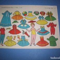 Coleccionismo Recortables: RECORTABLE FHER Nº 1114 AÑO 1959. Lote 264019970