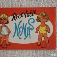 Coleccionismo Recortables: RECORTABLE NENAS. OLGA Y ASUN. Nº 2. AÑO 1977. EDITORIAL EVA. MEDIDA 12,5 X 18 CM. VER FOTOS.. Lote 278611968
