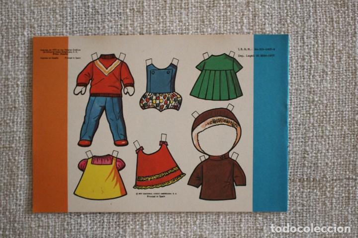 Coleccionismo Recortables: Recortable NENAS. Mari y Loli. nº 3. Año 1977. Editorial EVA. Medida 12,5 x 18 cm. Ver fotos. - Foto 2 - 278612093