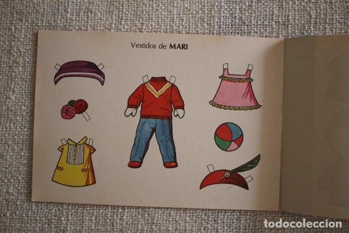 Coleccionismo Recortables: Recortable NENAS. Mari y Loli. nº 3. Año 1977. Editorial EVA. Medida 12,5 x 18 cm. Ver fotos. - Foto 3 - 278612093