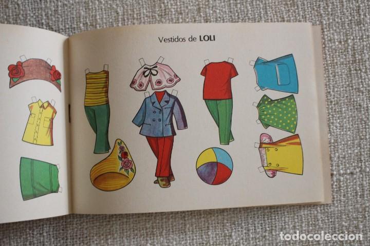 Coleccionismo Recortables: Recortable NENAS. Mari y Loli. nº 3. Año 1977. Editorial EVA. Medida 12,5 x 18 cm. Ver fotos. - Foto 4 - 278612093
