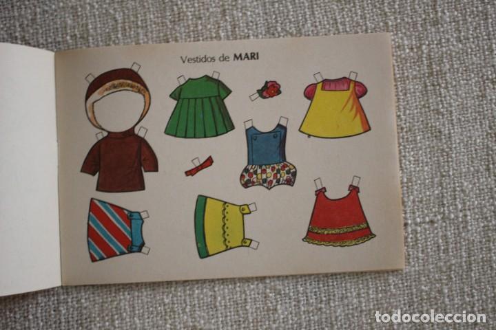 Coleccionismo Recortables: Recortable NENAS. Mari y Loli. nº 3. Año 1977. Editorial EVA. Medida 12,5 x 18 cm. Ver fotos. - Foto 6 - 278612093