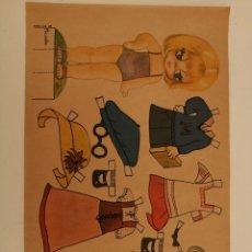 Coleccionismo Recortables: RECORTABLE MUÑECA MICAELA 1978. Lote 283296128