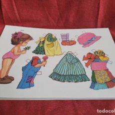 Coleccionismo Recortables: LOTE DE 31 LÁMINAS DE RECORTABLES. Lote 285245768
