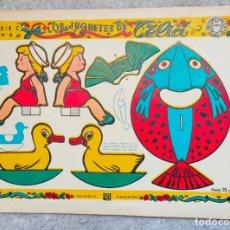 Collezionismo Figurine da Ritagliare: LOS JUGUETES DE CELIA. BRUGUERA. SERIE C, Nº 6. RECORTABLES PARA TI. 25 CTS. Lote 292066888