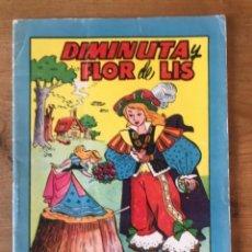 Coleccionismo Recortables: TEBEO BRUGUERA DIMINUTA Y FLOR DE LIS. CON LUPITA Y PACHUCA RECORTABLES BOMBÓN. Lote 292343928