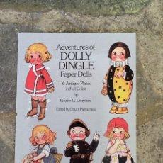 Coleccionismo Recortables: RECORTABLES DOLLY DINGLE. Lote 294134378