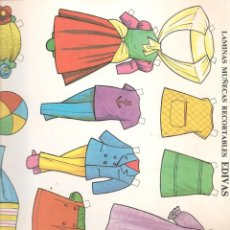 Coleccionismo Recortables: RECORTABLE MUÑECAS.(TAMAÑO 34 X 24 CTM. APROX.) (P/C9. Lote 296849203