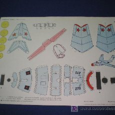 Collectables Paper Dolls - RECORTABLES TORAY - MIG 15(U.R.S.S) - 1962 - 6921172