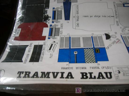 Coleccionismo Recortables: Tramvia blau - Foto 2 - 177929975