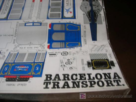Coleccionismo Recortables: Tramvia Barcelona - Foto 3 - 177929975