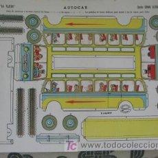 Collectables Paper Dolls - RECORTABLE AUTOCAR, DE LA TIJERA - 26889366