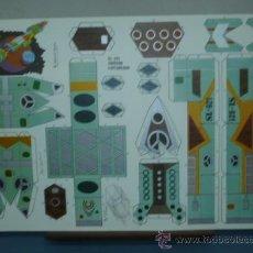 Coleccionismo Recortables: RECORTABLE EDITORIAL ROMA TAMAÑO 270X400 CRUCERO EXPLORADOR SL-921. Lote 10610843