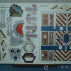 Coleccionismo Recortables: RECORTABLE EDITORIAL ROMA TAMAÑO 270X400 CARGUERO MH JV-348. Lote 10610868
