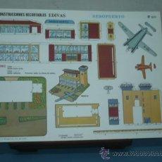 Coleccionismo Recortables: RECORTABLE EDITORIAL EDIVAS AEROPUERTO Nº 521 TAMAÑO 240X340 . Lote 10612867