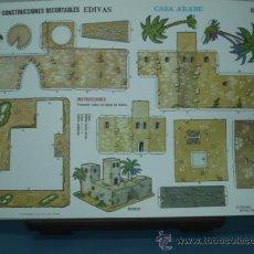 Coleccionismo Recortables: RECORTABLE EDITORIAL EDIVAS CASA ARABE Nº 528 TAMAÑO 240X340 . Lote 10613070