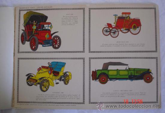 Coleccionismo Recortables: Recortables Toray grupo 27 - Coches de época - Barcelona - Foto 2 - 30964148