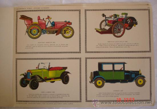 Coleccionismo Recortables: Recortables Toray grupo 27 - Coches de época - Barcelona - Foto 3 - 30964148