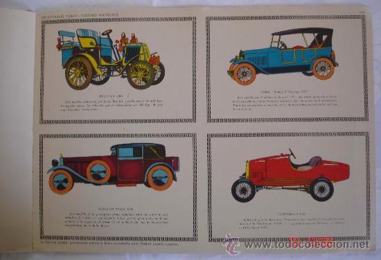 Coleccionismo Recortables: Recortables Toray grupo 27 - Coches de época - Barcelona - Foto 4 - 30964148