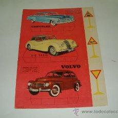 Coleccionismo Recortables: RECORTES ULTRA. AUTOMÓVILES Nº 3. EDITORIAL ROMA. BARCELONA. RECORTABLE CARTON. VOLVO-CHRYSLER. Lote 14319911