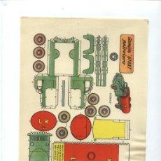 Coleccionismo Recortables: CAMION STAR PETROLERO. Lote 14539313