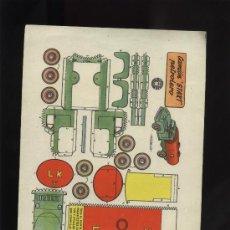 Coleccionismo Recortables: CAMION STAR PETROLERO. Lote 14539314
