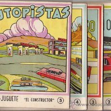 Coleccionismo Recortables: SERIE DE 5 RECORTABLES 1960 EDITORIAL ROMA. Lote 24328947