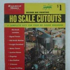 Coleccionismo Recortables: RAILROAD MODEL CRAFTSMAN. CUTOUT BOOK. LIBRO CON RECORTABLES DE FERROCARRILES.. Lote 13893593