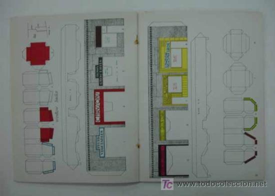Coleccionismo Recortables: RAILROAD MODEL CRAFTSMAN. CUTOUT BOOK. LIBRO CON RECORTABLES DE FERROCARRILES. - Foto 7 - 13893593