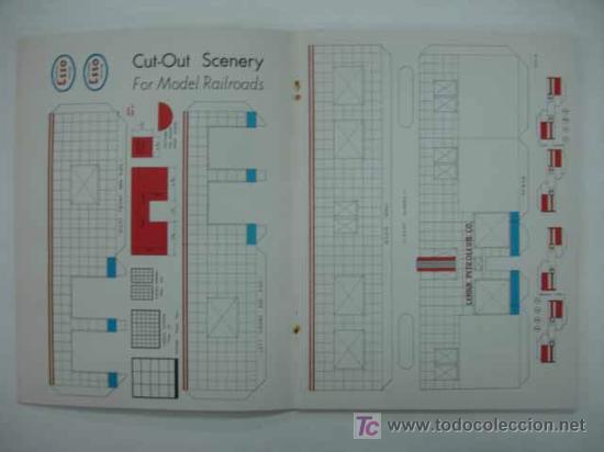 Coleccionismo Recortables: RAILROAD MODEL CRAFTSMAN. CUTOUT BOOK. LIBRO CON RECORTABLES DE FERROCARRILES. - Foto 5 - 13893593