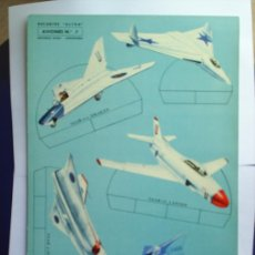 Collectables Paper Dolls - RECORTES ULTRA ,1961 AVIONES N.7,EN CARTULINA EDITORIAL ROMA, recortable - 22275201