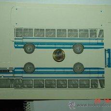 Coleccionismo Recortables: 9178 RECORTABLE AUTOCAR BARREIROS AÑOS 1960 MAS EN MI TIENDA C&C. Lote 28365708