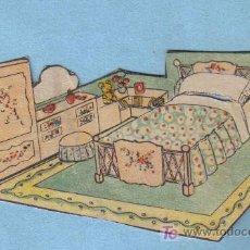 Coleccionismo Recortables: RECORTABLE HABITACION INFANTIL. Lote 14042830