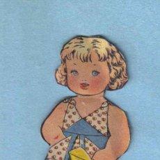 Coleccionismo Recortables: RECORTABLE NIÑA. Lote 14042837