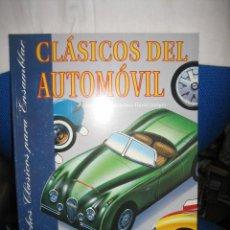 Coleccionismo Recortables: CLASICOS DEL AUTOMOVIL COCHES RECORTABLES LIBRO CON DIEZ AUTOMOVILES LEGENDARIOS SUSAETA 1992. Lote 27036038