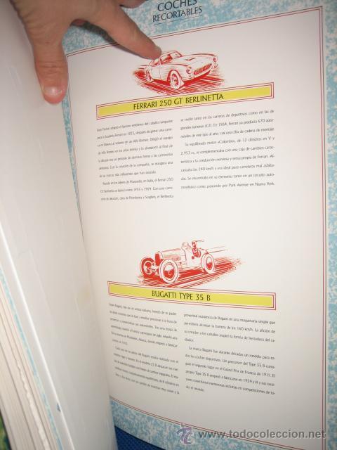 Coleccionismo Recortables: CLASICOS DEL AUTOMOVIL COCHES RECORTABLES LIBRO CON DIEZ AUTOMOVILES LEGENDARIOS SUSAETA 1992 - Foto 4 - 27036038