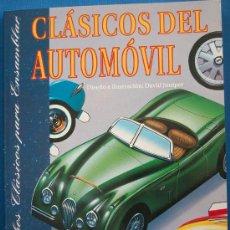 Coleccionismo Recortables: CLASICOS DEL AUTOMOVIL - 10 RECORTABLES DE COCHES LEGENDARIOS - SUSAETA 1992. Lote 26334447