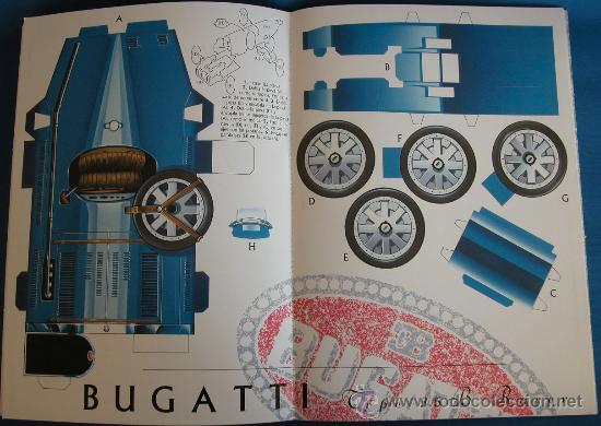 Coleccionismo Recortables: CLASICOS DEL AUTOMOVIL - 10 RECORTABLES DE COCHES LEGENDARIOS - SUSAETA 1992 - Foto 4 - 26334447