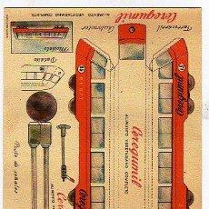 Coleccionismo Recortables: CONSTRUCCIONES. TREN RENFE. CERGUMIL. MALAGA. Nº 13. ALIMENTO VEGETARIANO COMPLETO. 15 X 22 CM.. Lote 24799689
