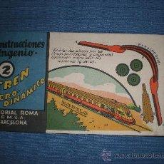 Collectables Paper Dolls - Construcciones Ingenio Nº 2 Tren Aero-Dinámico Ed. Roma E.M.S.A - 27626123